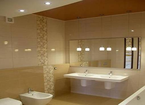 Потолок в ванной из гипсокартона: делать ли, и если делать, то как
