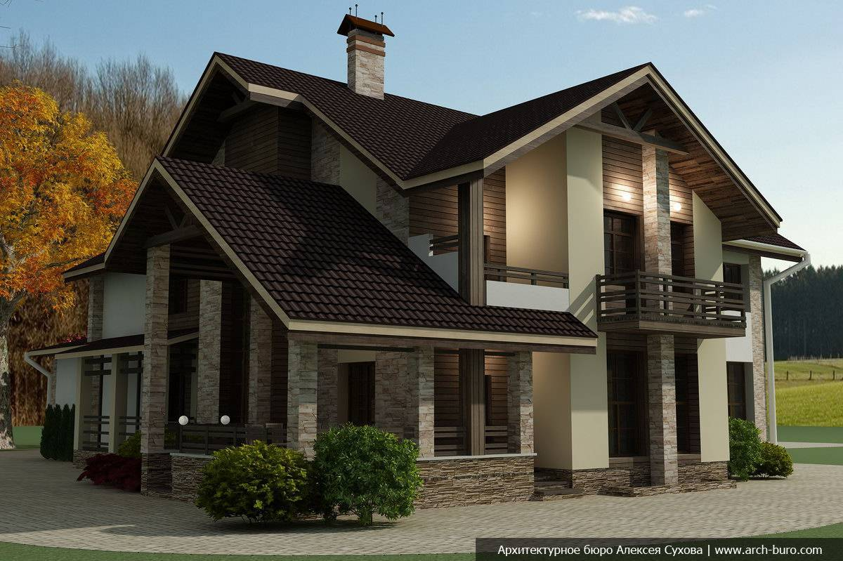 Продажа готовых проектов загородных домов, коттеджей в москве - проектмаркет