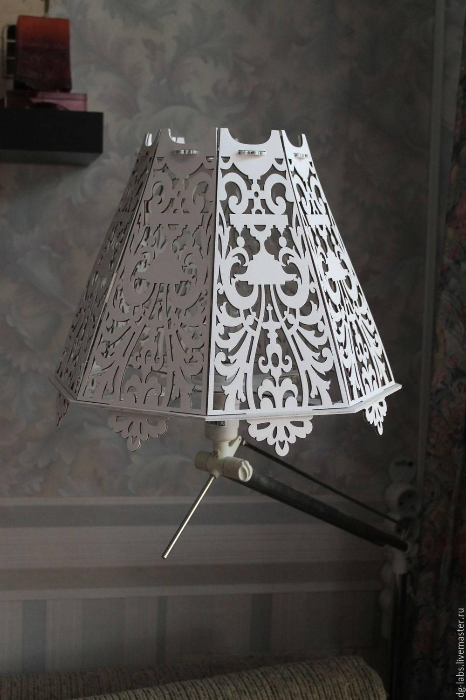 Абажур своими руками: для люстры, торшера, настольной лампы
