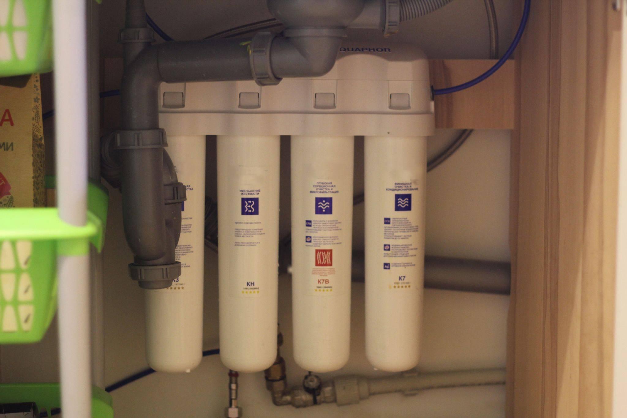 Фильтры под мойку для воды: выбираем лучшее