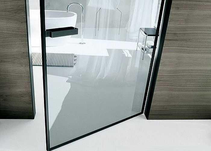 Стеклянные межкомнатные двери (65+ фото)