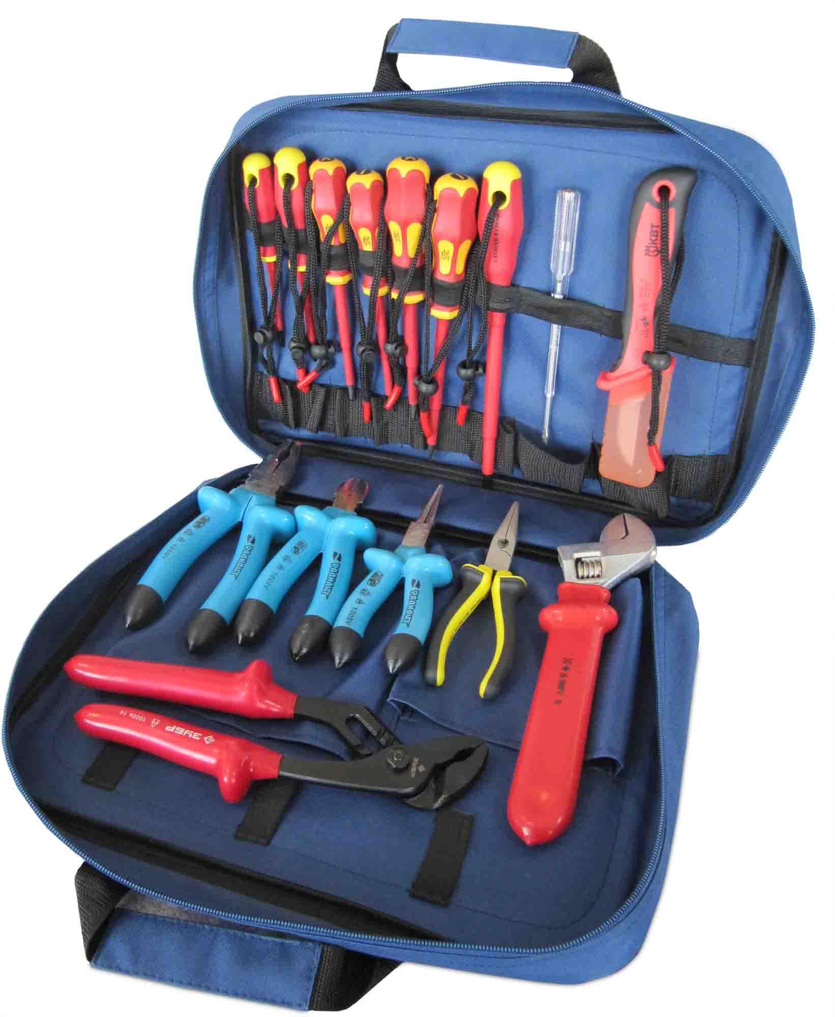 Набор электрика: инструменты, использвоание, назначение