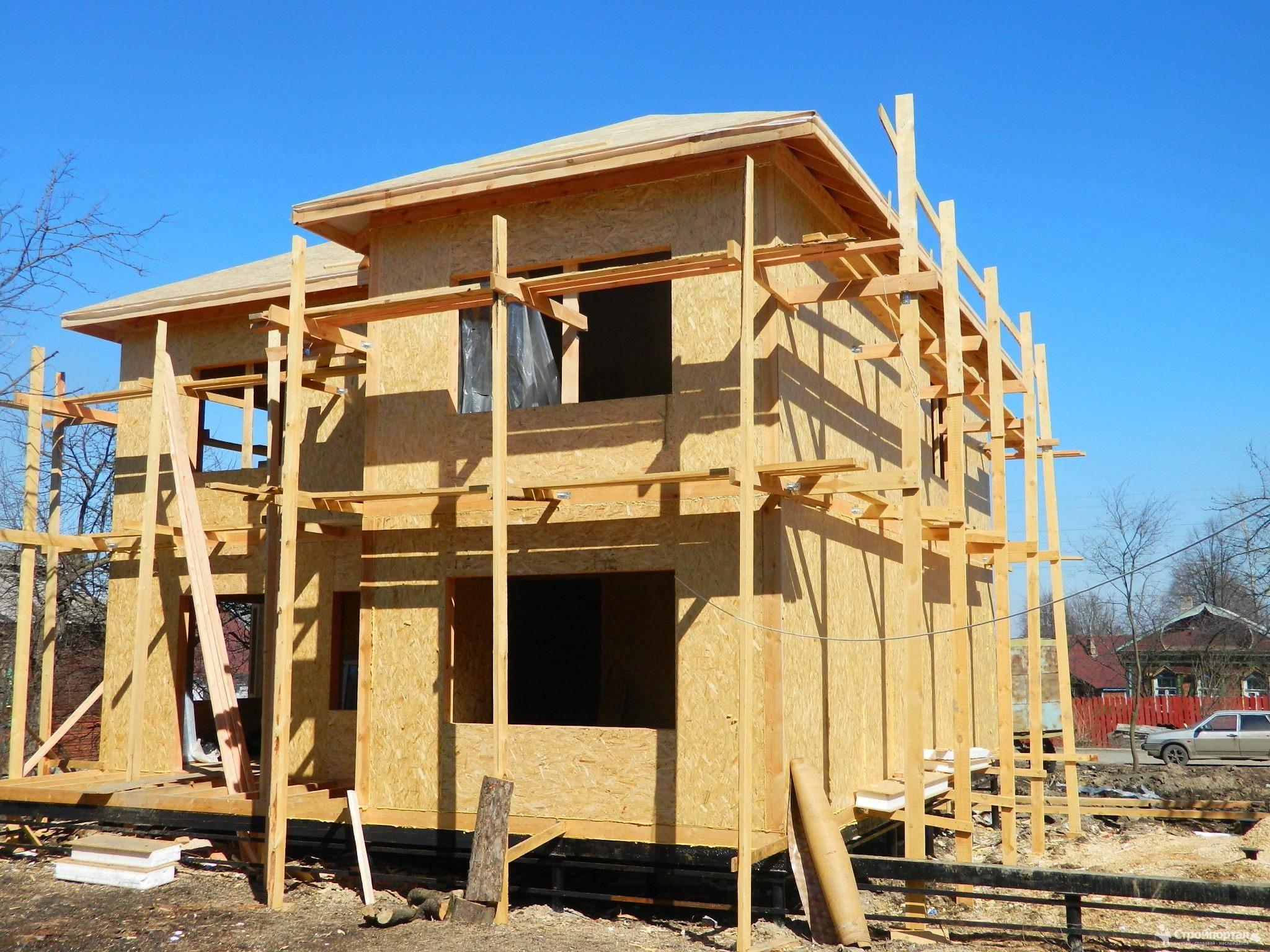 Блочно-каркасный дом: особенности строительства