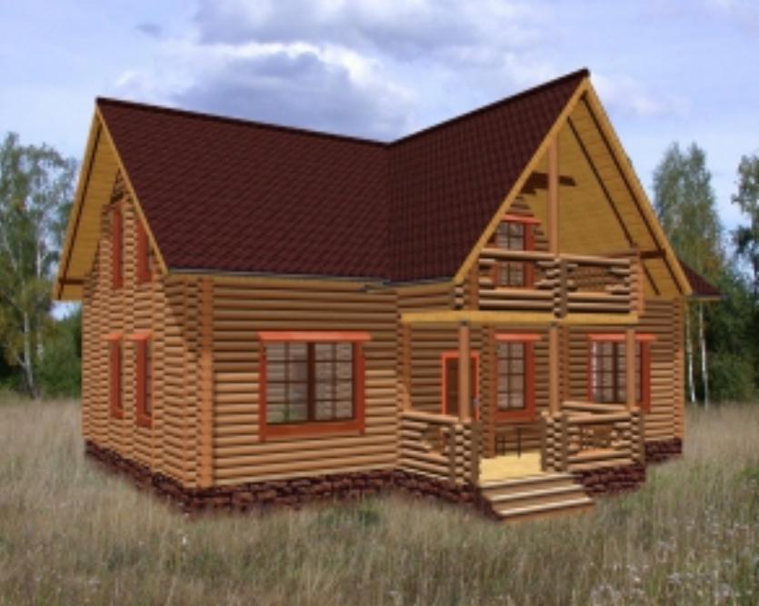 Как построить загородный дом из оцилиндрованного бревна: материалы, стоимость и строительство под ключ