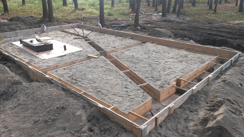 Фундамент плита своими руками: пошаговая инструкция