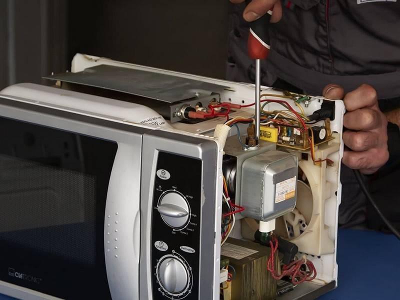 Микроволновка не греет: причины поломки и способы ремонта своими руками
