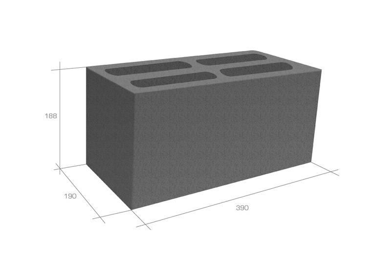 Керамзитобетонные блоки: характеристика, гост