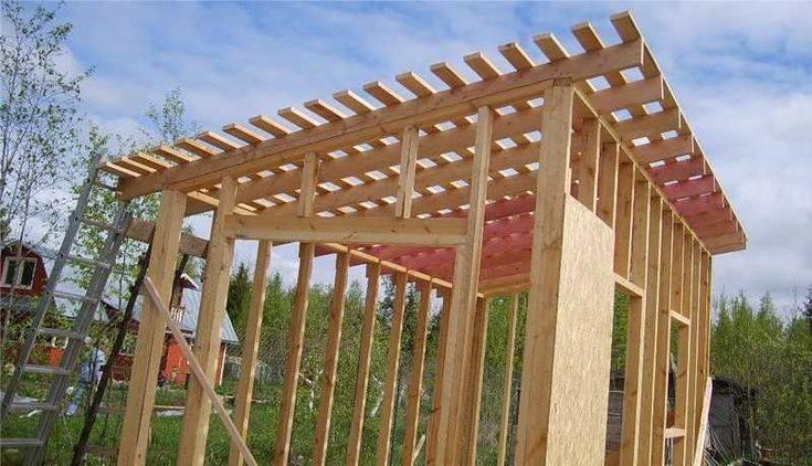 Как построить сарай своими руками пошагово: легкие варианты