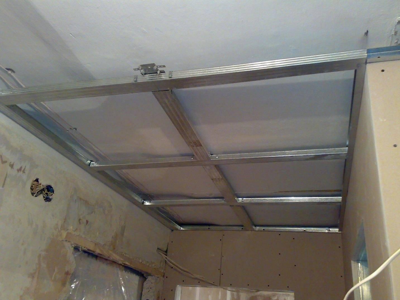 Потолок из гипсокартона в ванной: особенности материала и принципы монтажа | ремонт и дизайн ванной комнаты