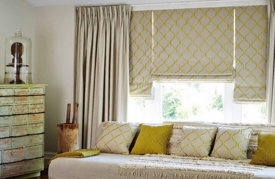 Как выбрать римские шторы в современную спальню