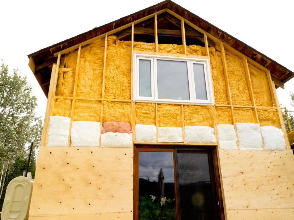 Утепление своими руками - 105 фото и видео схемы как утеплить дом снаружи и внутри