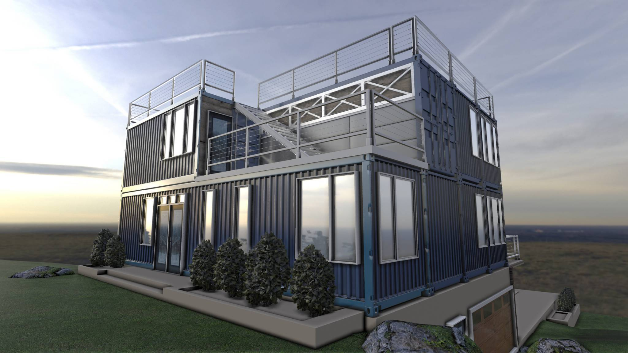 Дом из морских контейнеров: проекты, строительство, утепление, цена - квартира, дом, дача - медиаплатформа миртесен
