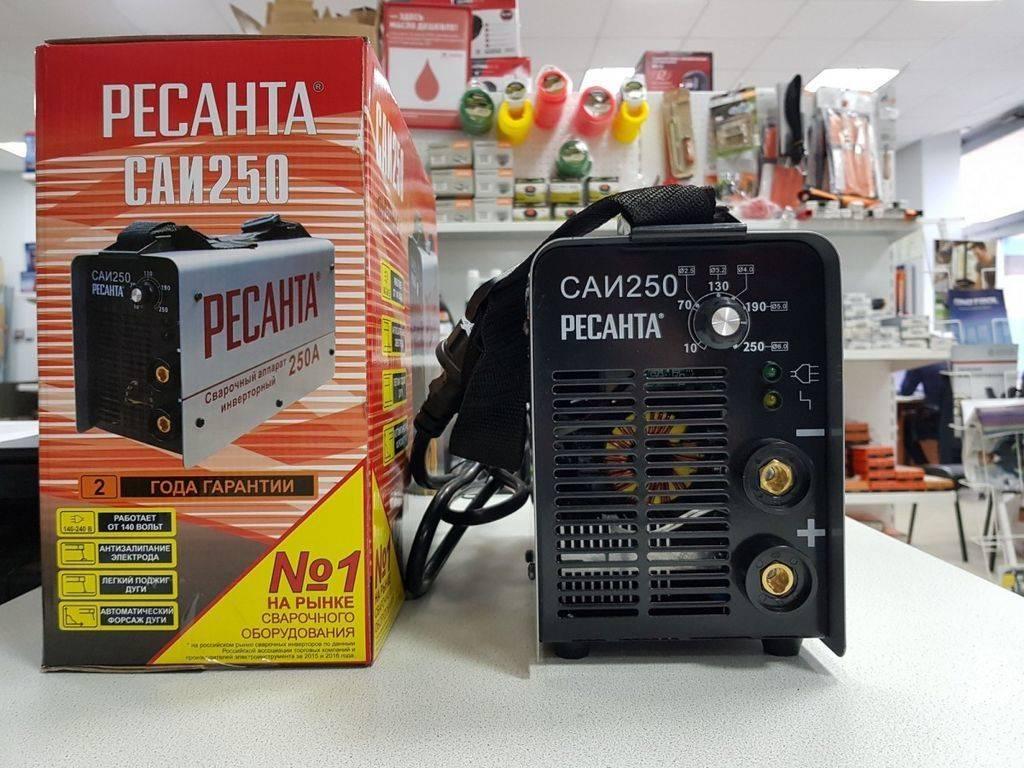 Сварочный аппарат ресанта саи 220: все модификации