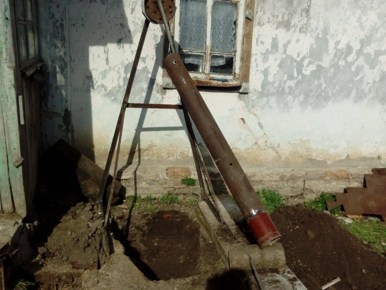Пошаговое изготовление бура для скважины своими руками - vodatyt.ru