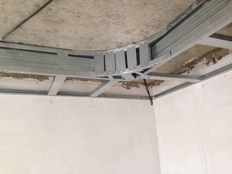 Потолок из гипсокартона с подсветкой своими руками: пошаговая инструкция с фото, видео