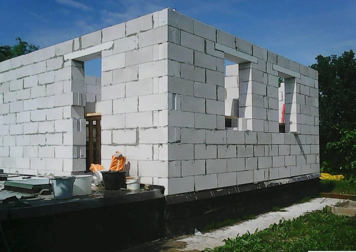 Технология возведения дома из блоков своими руками