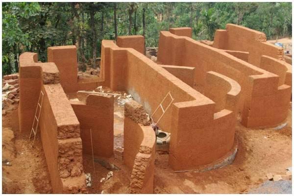 Стройремонтдом из глиночурки своими руками: технология строительства