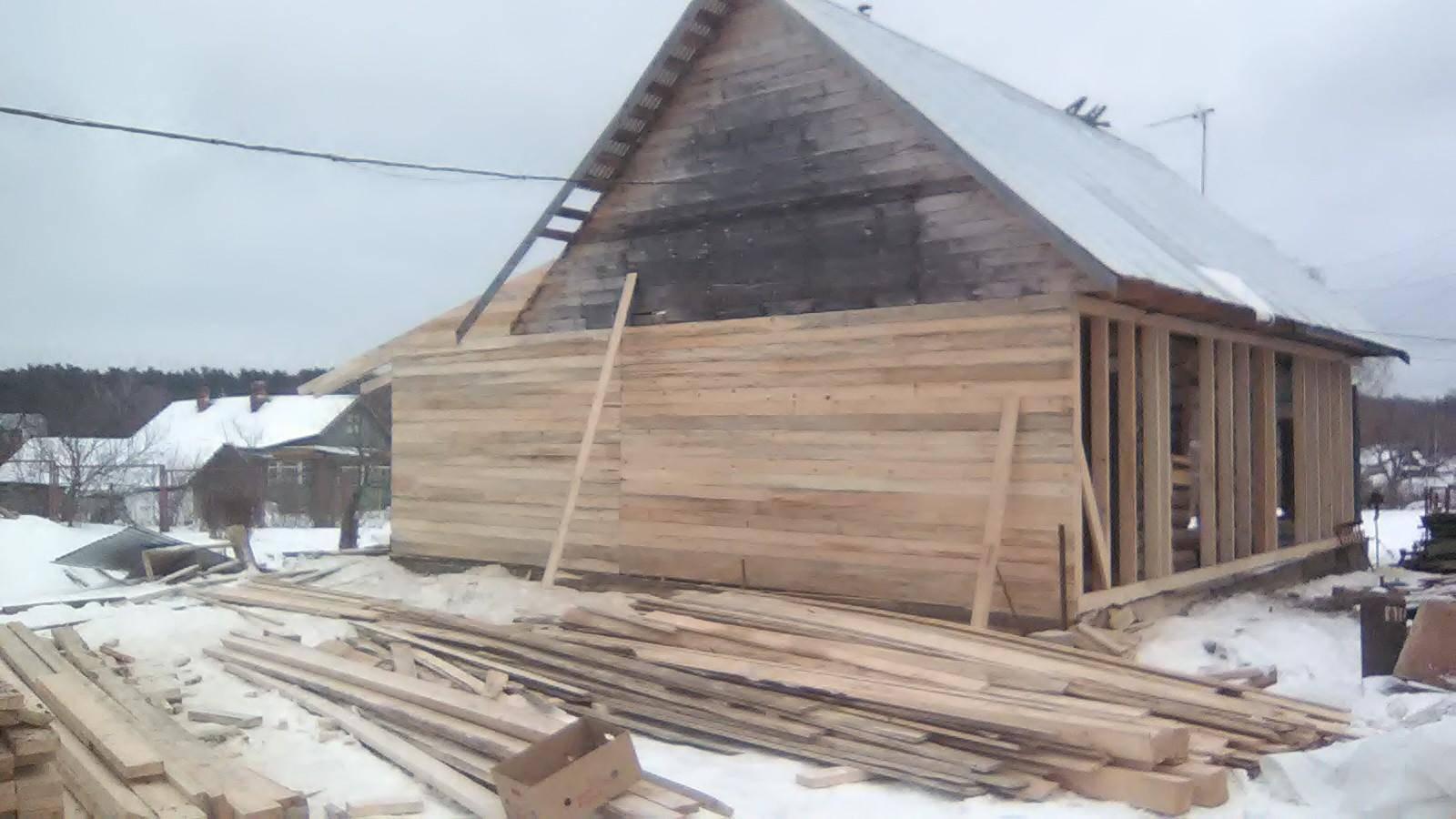 Как построить новый дом вокруг старого? - капитальное строительство