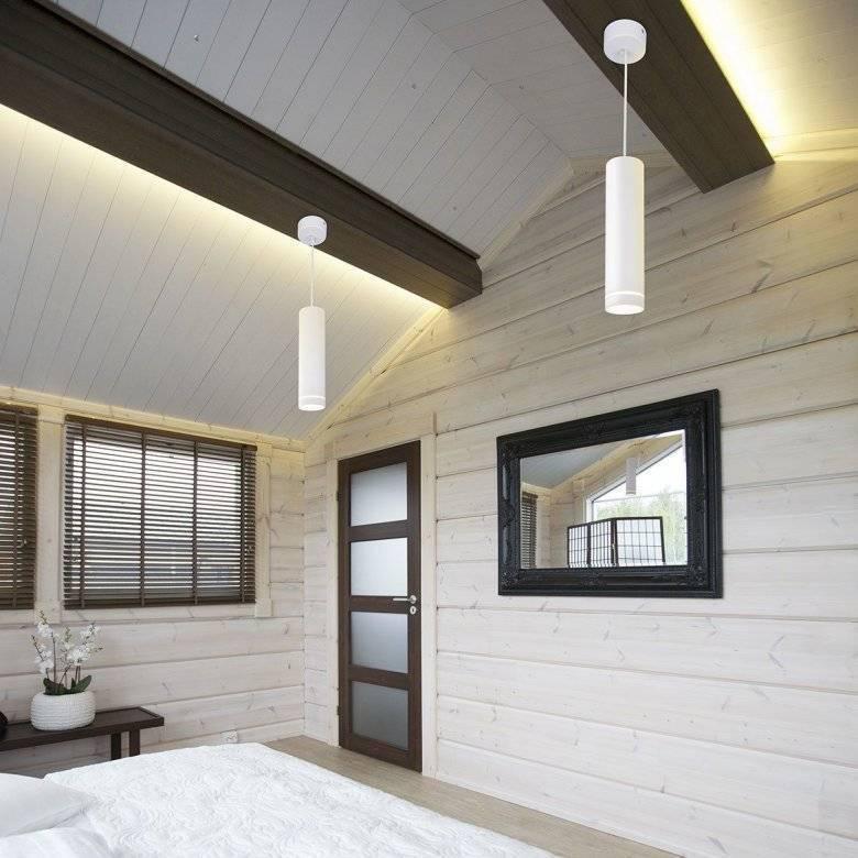 Чем покрасить деревянный потолок в доме