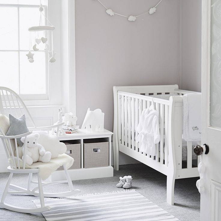 Обустройство комнаты для новорожденного: идеи по оформлению