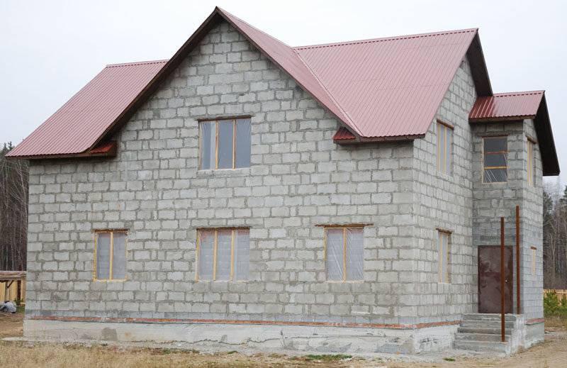 Как построить дом из полистиролбетона своими руками