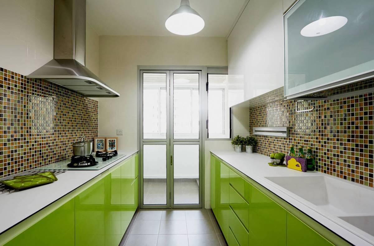 Дизайн зеленой кухни: фото примеры реальных интерьеров