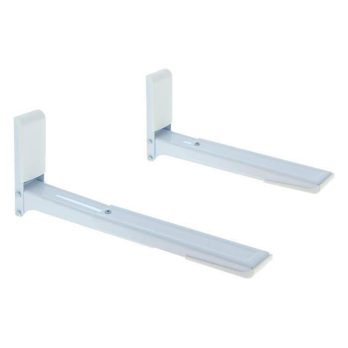 Как легко закрепить микроволновку на стене с использованием полки или кронштейнов