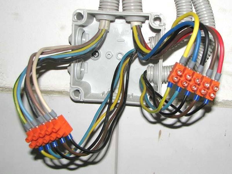Клеммники для соединения проводов в распределительной коробке - всё о электрике
