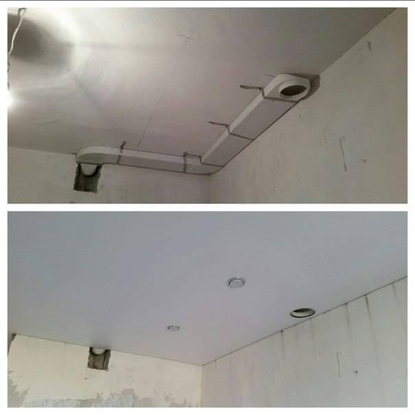 Нужна ли вентиляция в натяжном потолке – как сделать правильно