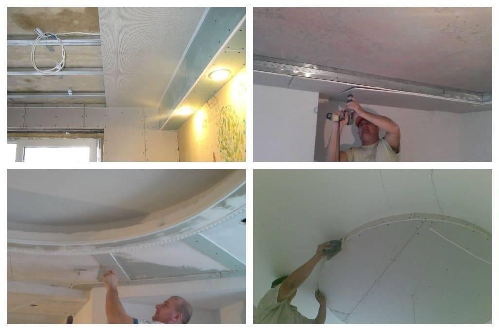 Потолок из гипсокартона с подсветкой: конструкция, инструмент, инструкция монтажа своими руками пошагово, советы специалистов