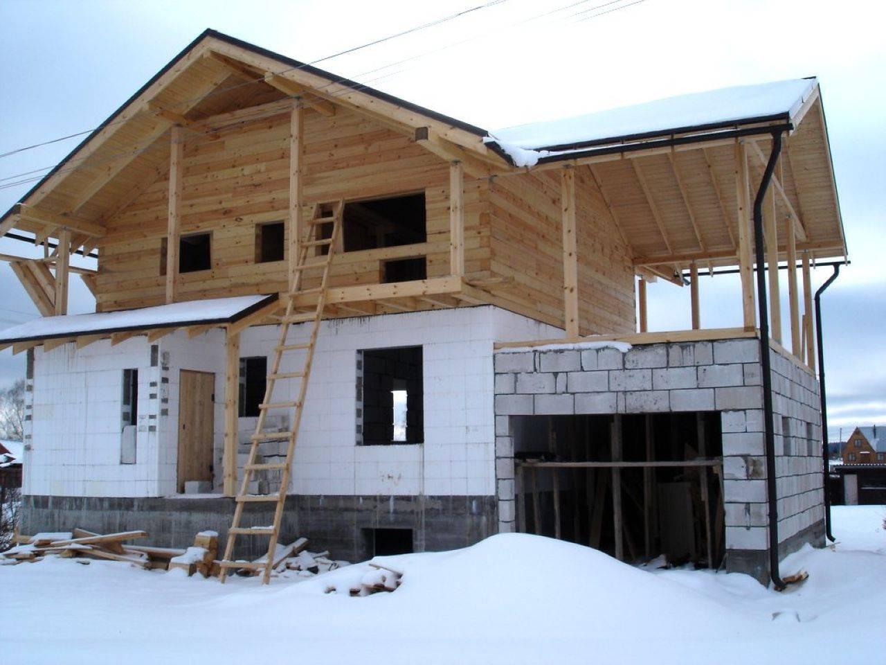 Сравнение затрат на строительство дома из бруса и газобетона