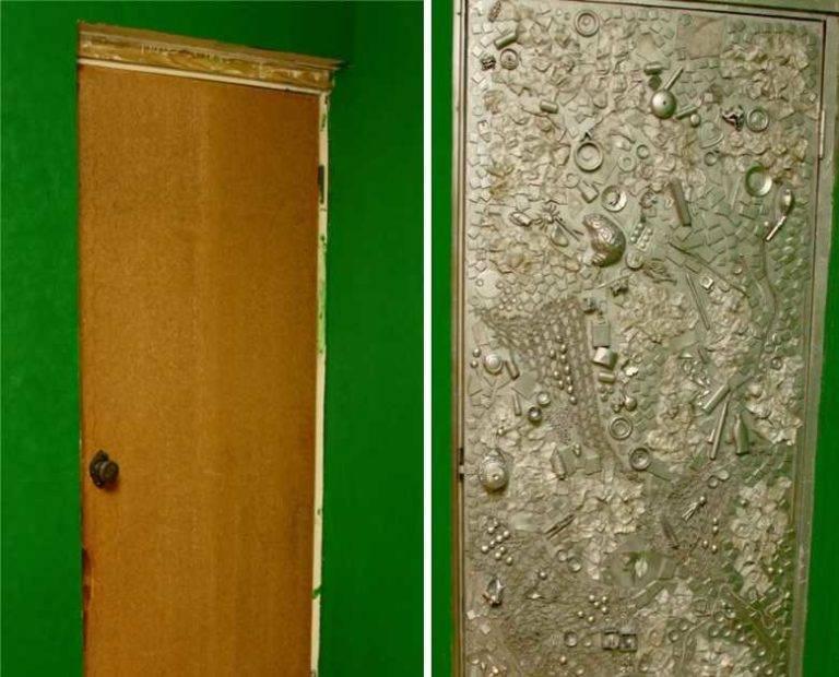 6 простых и доступных способов, как обновить старую входную дверь