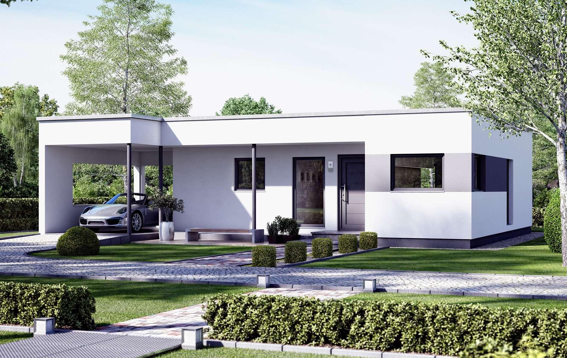 Современные дома в утонченном стиле «хай-тек»
