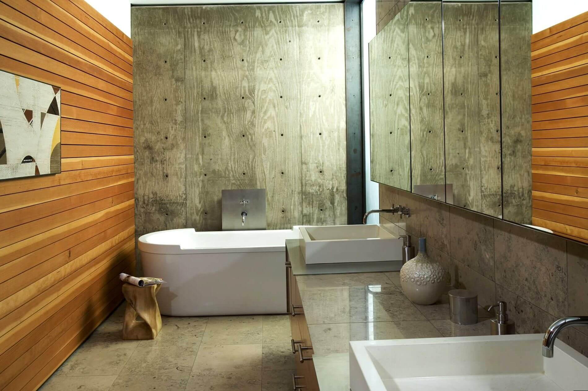 Чем лучше всего отделать стены в ванной комнате?