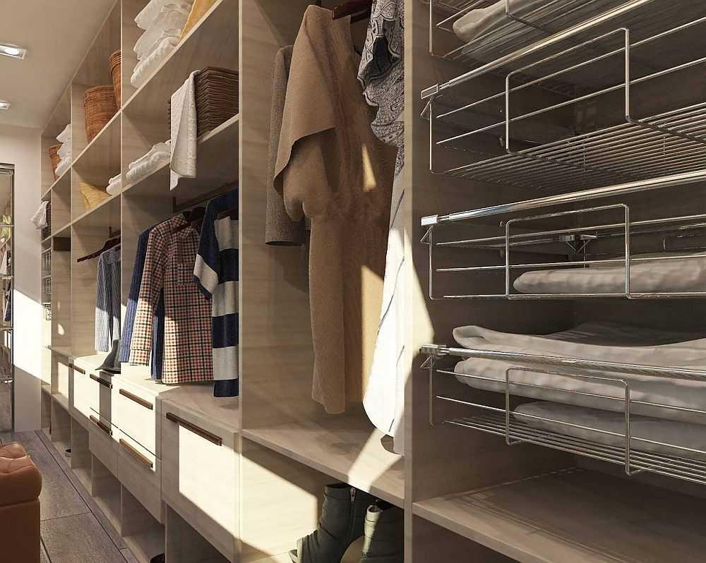 Наполнение для шкафов и гардеробных, как заполнить пространство