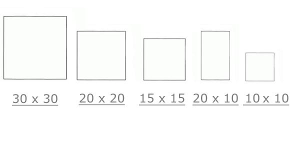 Размеры керамогранита: тонкие и толстые крупноформатные изделия, большие плитки размером 1200 х 600, где применяются модели толщиной 20 мм