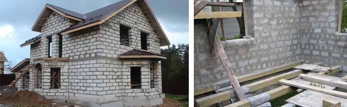 Дом из пеноблоков: преимущества использования блоков и устройство стен (85 фото)