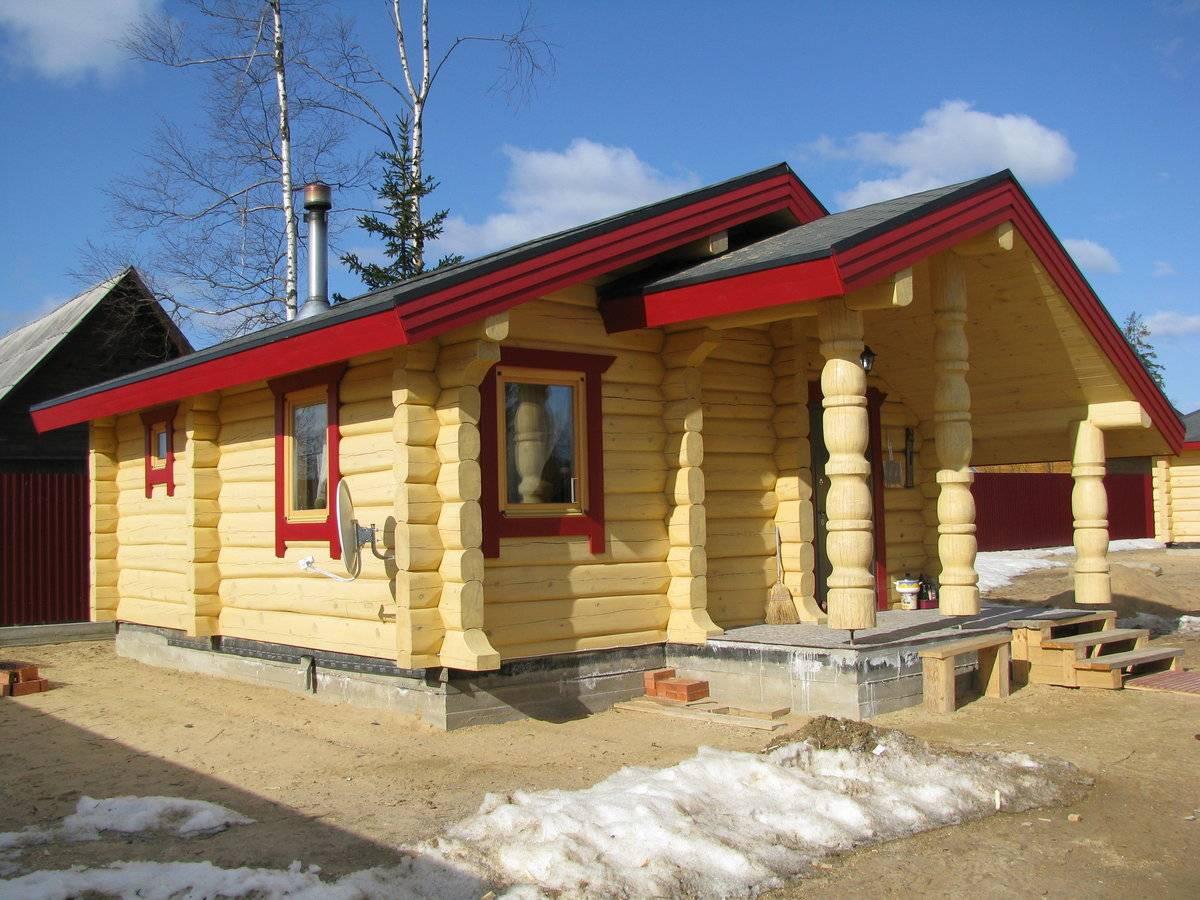 Строительство дома из лафета: преимущества и недостатки. что такое лафет? строительство домов из лафета