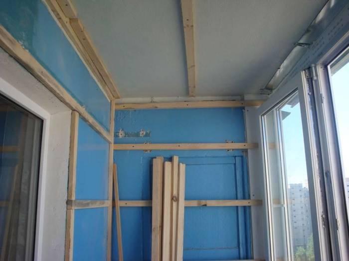 Отделка балкона вагонкой: пошаговая инструкция