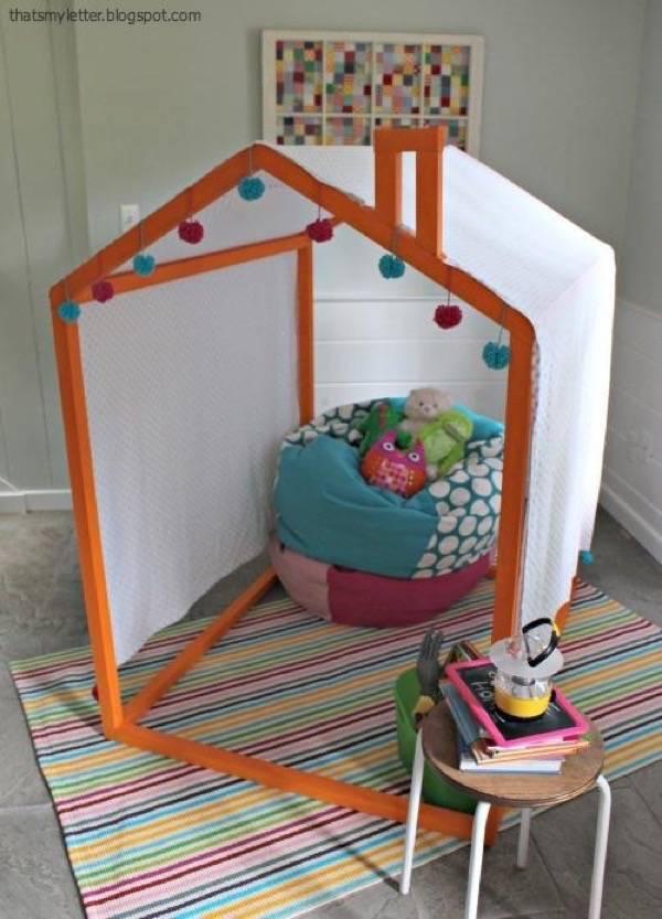Детские домики из фанеры: чертежи, схемы и инструкции