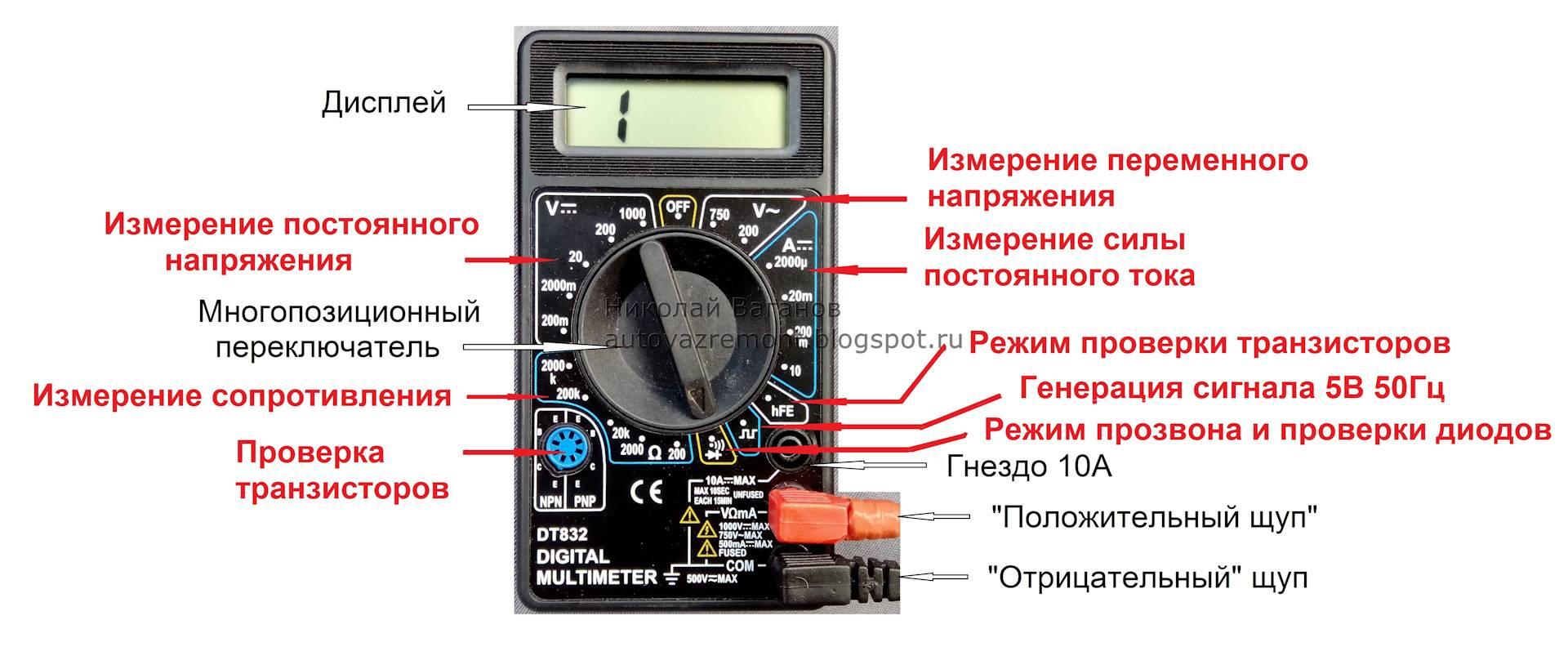 Как пользоваться мультиметром: видео и инструкция для чайников