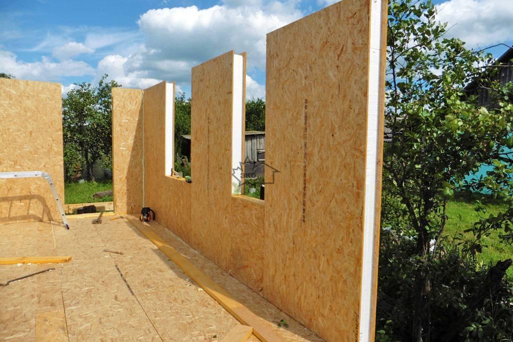 ????как построить дом из сип панелей самостоятельно - блог о строительстве