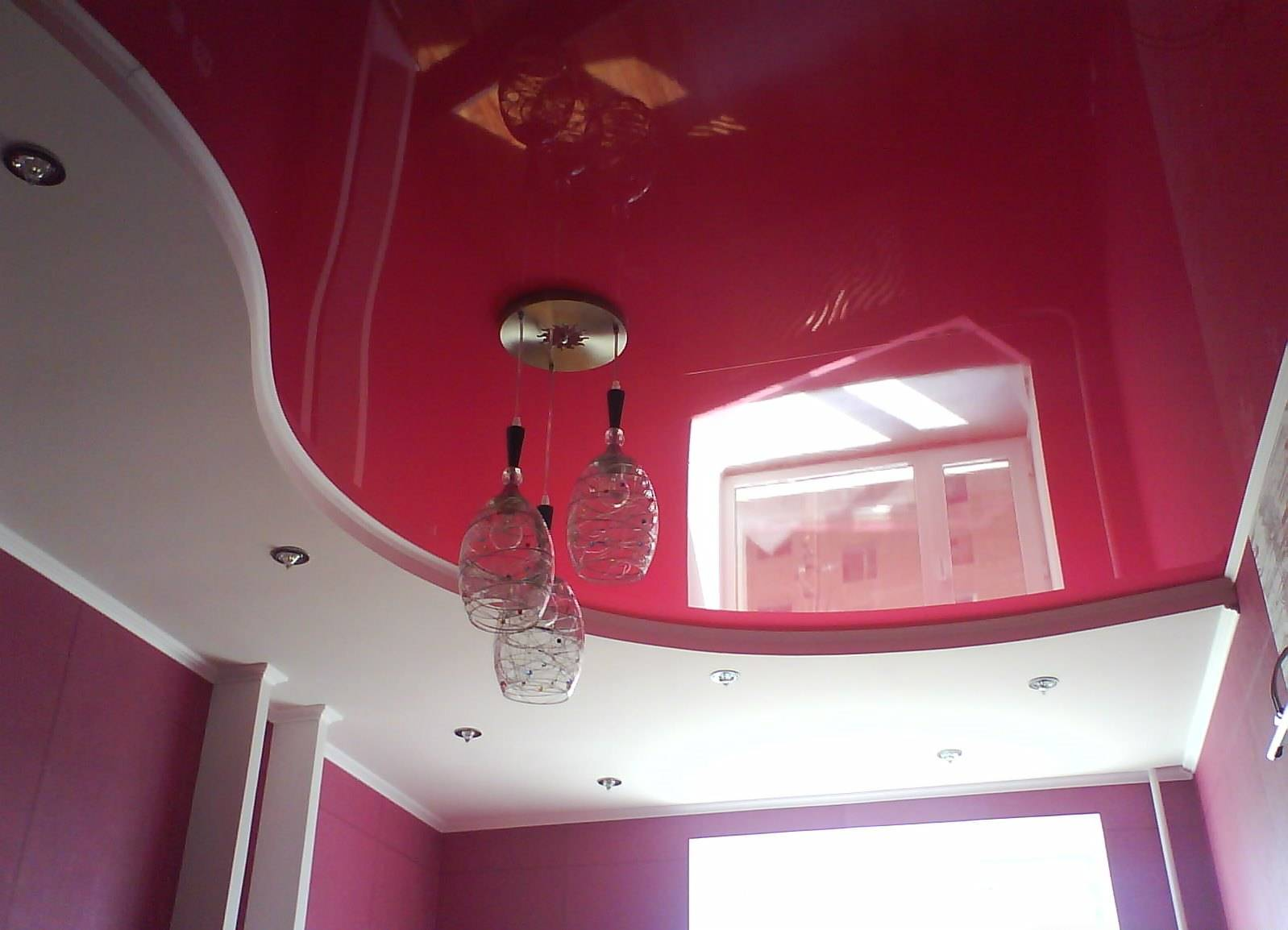 Тканевые натяжные потолки - основные плюсы и минусы