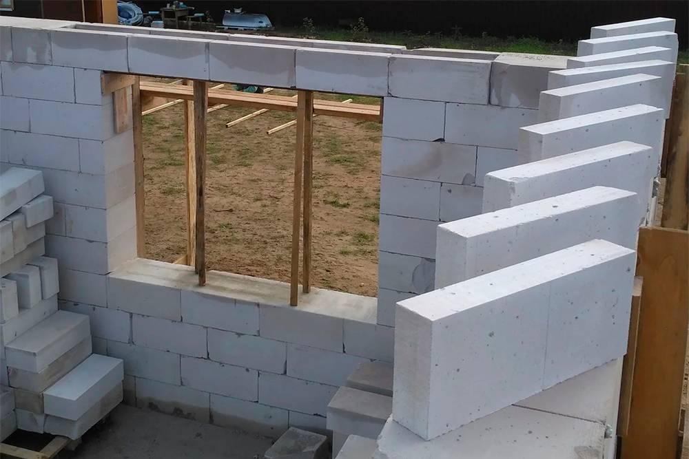 Технология кладки стен из газосиликатных блоков своими руками