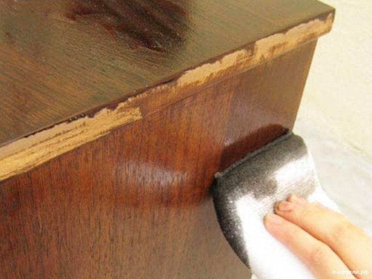 Особенности реставрации мебели