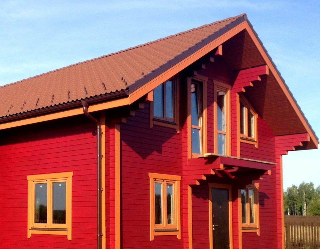 Технология и правила покраски старого деревянного дома