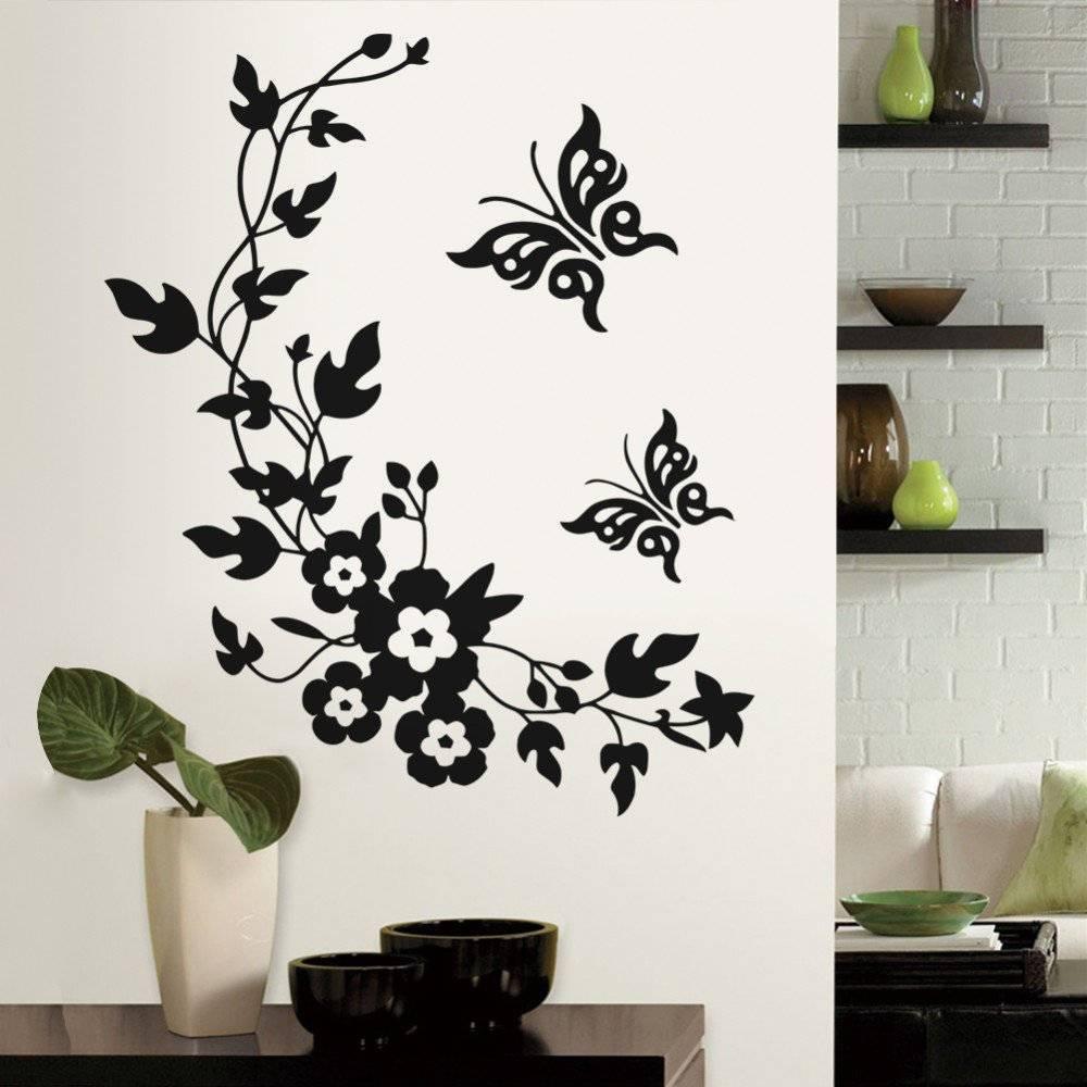Декоративные наклейки для интерьера на стены +50 фото