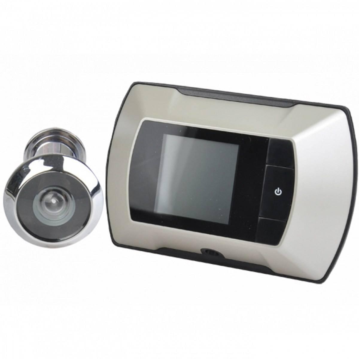 Беспроводной дверной глазок: с камерой, записью, датчиком движения, монитором