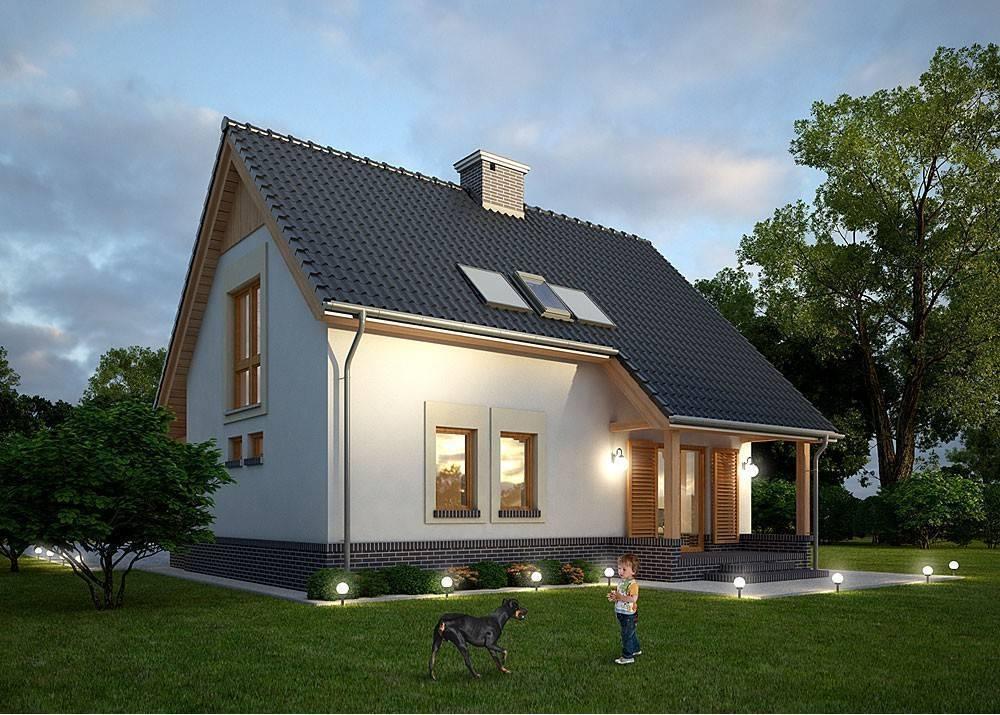 Проекты домов с мансардой: планировка, дизайн и фото