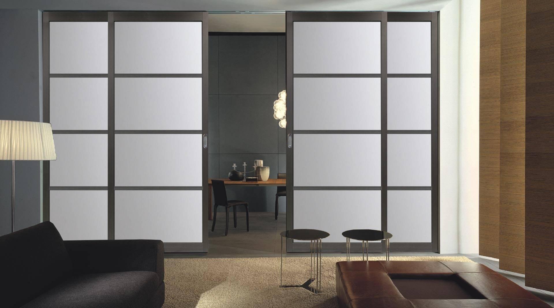 Стеклянные межкомнатные двери: раздвижные, распашные, матовые (50 фото разных моделей) - nravstvennost.info
